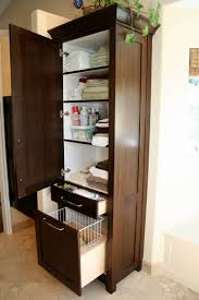 free standing bathroom storage tower cabinet elegant bathroom