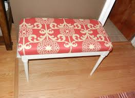 Piano Bench Pad Diy Idea What To Do With A Piano Bench Try This Easy Upholstery