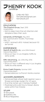 Copywriting Resume Resumé U2014 Henry Kook Copywriter Portfolio