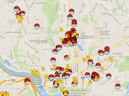 Map Dc Every Pokéstop And Gym In Washington D C Mapped Curbed Dc