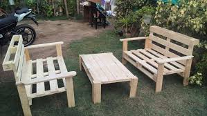 Make Your Own Wood Patio Chairs by Diy Pallet Outdoor Seating Ideas 101 Pallets