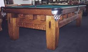 brunswick mission pool table the old mission style b antique billiard table