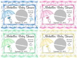 baby shower scratch unique personalized umbrella theme baby shower scratch