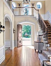 Front Staircase Design 25 Spaces With Industrial Influences And Décor Doors Foyers And