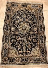 Rug Auctions Persian Qom Silk Pure Silk Rug 110x173cm Lionel Qum Qom Rugs