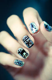 374 best christmas nail art images on pinterest christmas nails