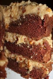 bake it or break it german chocolate cake with caramel pecan frosting