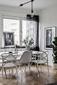 eames chair living room home design contrasting black and white home design ideas white
