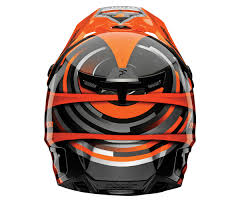 thor motocross helmets thor mx motocross 2017 verge helmet vortechs flo orange gray