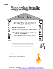 main idea details worksheet free worksheets library download and