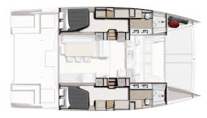 Catamaran Floor Plans by Bali 4 3 Motor Yacht Emek Marin