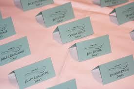 tiffany themed place cards too chic u0026 little shab design studio
