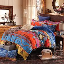 Kingsize Duvet Cover Fadfay Brand Colorful Exotic Bohemian Duvet Covers Queen King Size