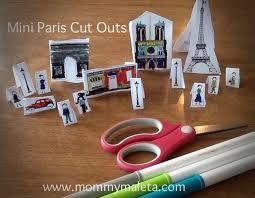 france craft mini paris cut outs