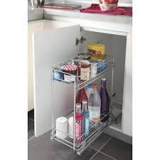 panier coulissant pour meuble de cuisine aménagement coulissant pour meuble bas accessoires de cuisine