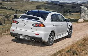 mitsubishi sports car 2018 mitsubishi lancer evolution final edition hits australia a
