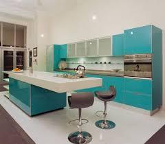 colorful kitchen backsplash kitchen design modern aqua kitchen decor with blue kitchen