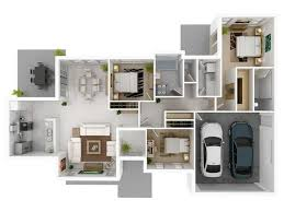 3 bedroom home plans 50 three 3 bedroom apartment house plans garage house plans
