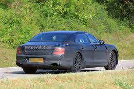 bentley continental flying spur blue 2019 bentley flying spur spied testing with a headless dummy as