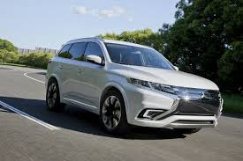 mitsubishi outlander phev concept s pictures digital trends