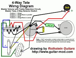 telecaster 4 way switch wiring diagram tele stack pups w fender 4