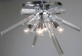 Vintage Sputnik Light Fixture 1970s Italian Murano Glass Sputnik Light Fixture At 1stdibs