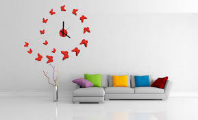 Home Interior Pictures Wall Decor Unique Modern Wall Clocks Ideas For Minimalist Room Midcityeast