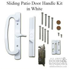Patio Door Latch Pella Patio Door Handle Vinyl Sliding Door Handle