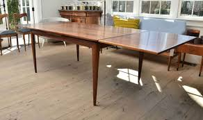 mid century niels otto moller rosewood dining table