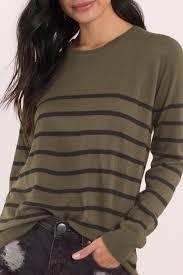 green sweater olive black sweater green sweater sleeve sweater tobi