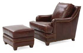 matching chair and ottoman leather chair furniture alluring leather chair and ottoman for
