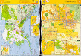 Mexico Road Map by Road Atlas Of The United States Canada And Mexico National
