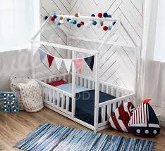 Twin Size Bed For Toddler Toddler Bed Twin Size Baby Bed Children Bed Montessori