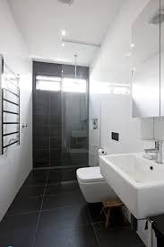 Black Bathroom Floor Tile Best 25 Dark Grey Bathrooms Ideas On Pinterest Simple Bathroom