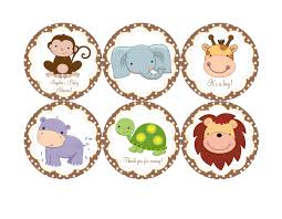 baby shower jungle theme clipart 78