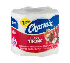 Charmin Bathroom Ultra Strong 2 Ply Family Roll Bathroom Tissue