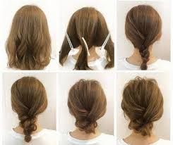Hochsteckfrisuren Ganz Einfach by Hochsteckfrisur Für Mittellanges Haar Frisuren Machen