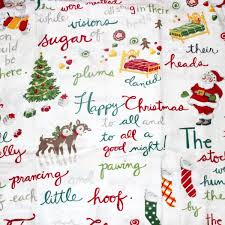 bedroom comfortable bedding design with sweet christmas flannel