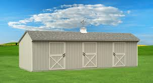 Hip Roof Barn by Byler Buildings Traditional Sheds Page
