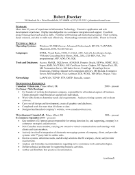 Sample Resume Objectives For Network Administrator by Senior Network Engineer Resume Resume For Your Job Application