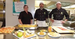 equipe de cuisine condé premier prix pour l équipe de cuisine du collège actu fr