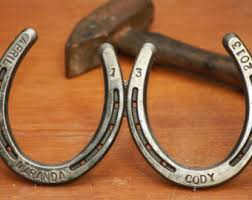 custom horseshoe etsy
