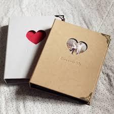 anniversary album ring binder hardcover scrapbook sketchbook photo album wedding