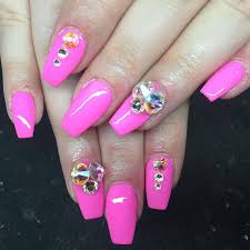 Migi Nail Art Design Ideas French Tip 3d Acrylic Flowers Gettin Nailed Pinterest Index Nail