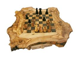 decorating unique olive wood chess set personalized custom as