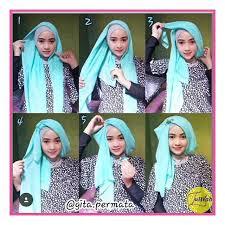 tutorial jilbab segi 4 untuk kebaya cara memakai hijab segi empat untuk acara pesta remaja update
