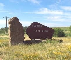 Wt Waggoner Ranch Map Lake Kemp And Lake Diversion Waggoner Ranch Lease Information