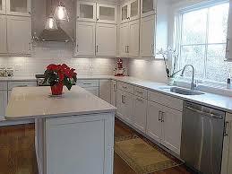 shaker white cabinets new england kitchen design