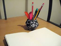 diy geometric pen holder make something mondays