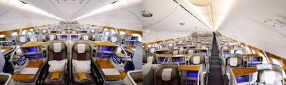 Emirates Airbus A380 Interior Business Class Emirates Welcomes New Generation A380 And Boeing 777 Aircraft To